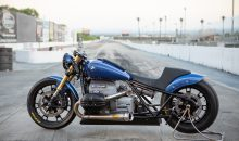 A DRAGSTER DRAGGED OUT OF A BMW R18
